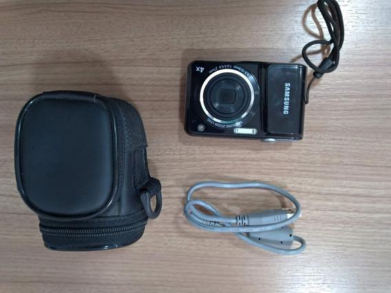 Câmera Digital Samsung Es25 Preta C/ 12,2 Mp, Lcd 2,5