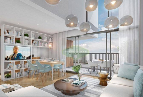 Apartamento Com 1 Dormitório À Venda, 69 M² Por R$ 1.186.810,00 - Moema - São Paulo/sp - Ap4674