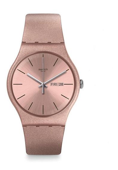 Relógio Feminino Swatch Pinkbayang - Suop704