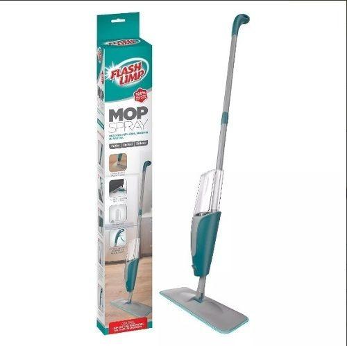 Vassoura Spray Mop Com Reservatório Flashlimp Original - 10x Sem Juros