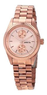 Reloj Invicta Specialty 29450 Palo Rosa Dama Elegante Acero