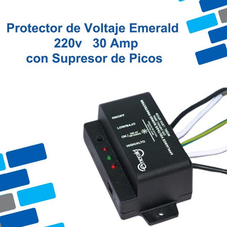Protector De Voltaje Emerald Con Supresor De Picos 220v