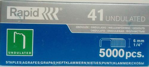 Grapas Corrugadas Pack 10 Rapid