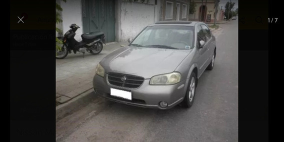 Nissan Maxima Gle Sedan Piel At 2000