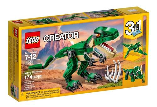 Lego Creator Grandes Dinosauruios 31058 De 174 Piezas