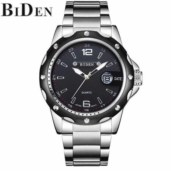 Relógio Masculino De Luxo Biden Executivo Super Top!!!