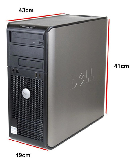 Computador Dell Optiplex 330 Intel Core 2 Duo 2gb 80gb