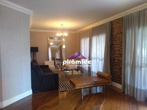 Apartamento À Venda, 168 M² Por R$ 880.000,00 - Jardim São Dimas - São José Dos Campos/sp - Ap12394