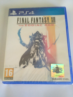 Final Fantasy Xii The Zodiac Age Ps4 Eu Nuevo Sellado