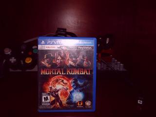 Video Juego Playstation Vita Mortal Kombat