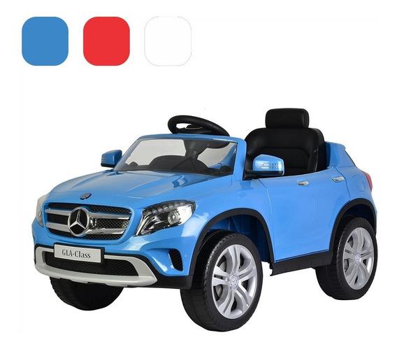 Carro Montable Eléctrico Mercedes Gla 12v