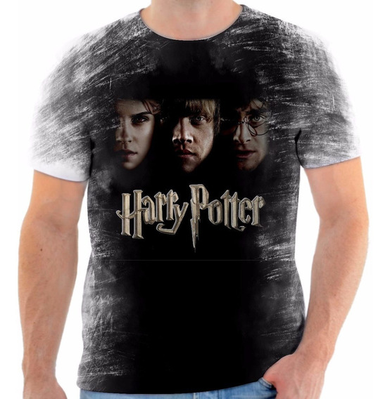 Camisa Camiseta Personalizada Harry Potter Personagens