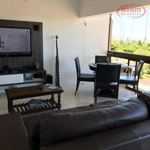 178m2 -aptº Guarujá- Enseada - 4 Dorms/2 Suites/2vagas Determinadas. - Ap1789
