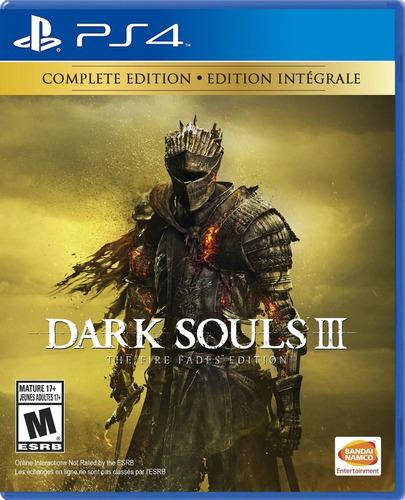 Dark Souls 3 Fire Fades Edition - Ps4 Fisico Nuevo & Sellado