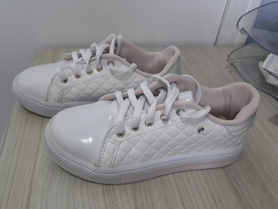 Tênis Pampili - Pouco UsadoCor: Branco C/ RosaTamanho: 31