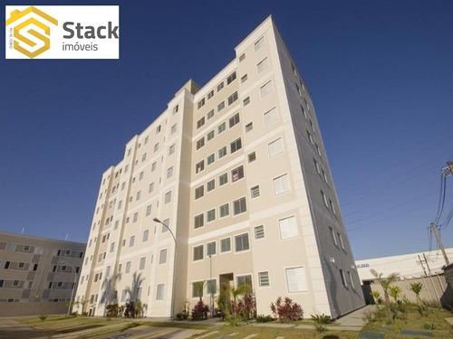 Apartamento À Venda Em Jundiaí, Na Vila Hortolândia, Condomínio Parque Joanesburgo Com 50m2 De Área Útil - Ap01332