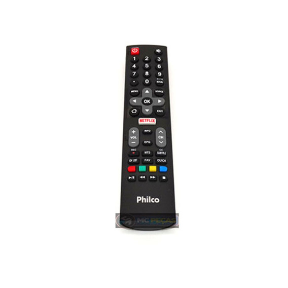 Controle Remoto Tv Philco Smart Netflix Novo E Original