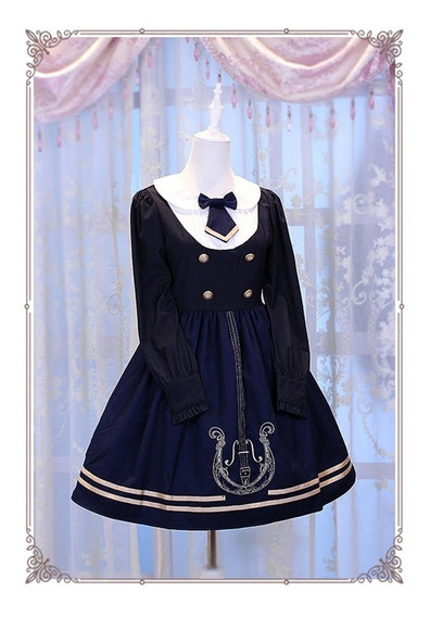 Vestido Xl Lolita Op Magic Music School College Style
