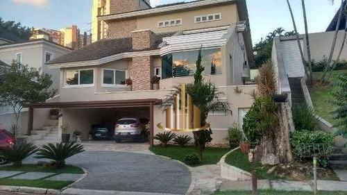 Casa Com 3 Dormitórios Sendo 1 Suíte À Venda, 300m² Por R$ 2.900.000 - Alphaville 01 - Barueri/sp - Ca2099