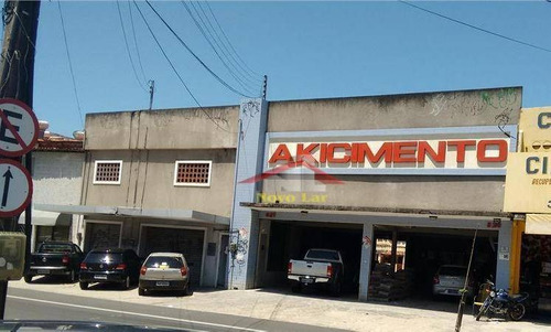 Prédio Comercial Para Locação, Montese, Fortaleza. - Pr0006