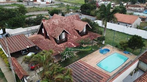 Imagem 1 de 8 de Casa Com 4 Dormitórios À Venda Por R$ 720.000 - Varinhas - Mogi Das Cruzes/sp - Ca6078