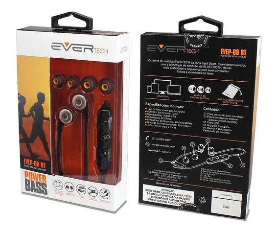 Fone De Ouvido Bluetooth Com Microfone Modelo Sport
