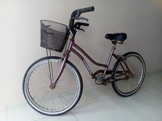 Bicicleta De Paseo Dama Rodado 24