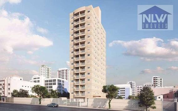 Apartamento Com 2 Dormitórios À Venda, 59 M² Por R$ 500.000 - Parque Santa Cecília - São Paulo/sp - Ap1071