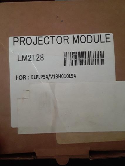 02 (duas) Lâmpada Para Projetor Completa Elplp54 Compatível