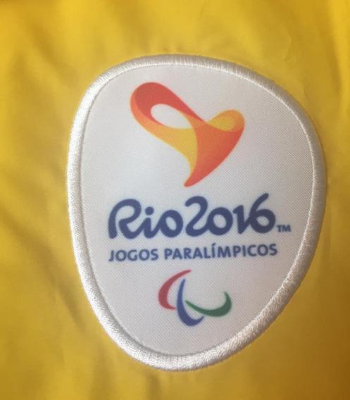 Jaqueta / Corta Vento Jogos Paralímpicos Rio 2016 Com Capuz