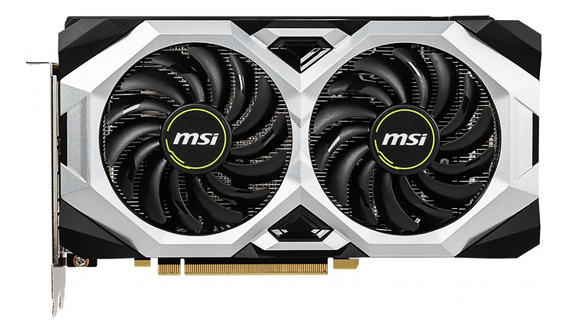 Placa de video Nvidia MSI GeForce RTX 20 Series RTX 2060 SUPER GEFORCE RTX 2060 SUPER VENTUS OC OC Edition 8GB