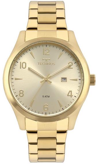 Relógio Masculino Technos Classic Steel 2115mrc/4x
