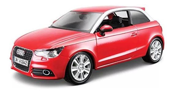 Auto Escala 1:24 Audi A1 Abre Puertas Metal Burago - Luico