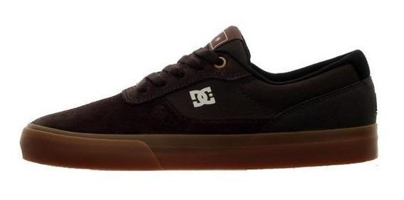 Tênis Dc Shoes Switch S Marrom