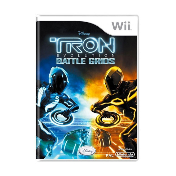 Tron Evolution Battle Grids Wii Mídia Física Pronta Entrega