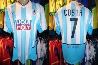 1860 Munique 2002 Camisa Titular Gg Número 7 Rodrigo Costa.