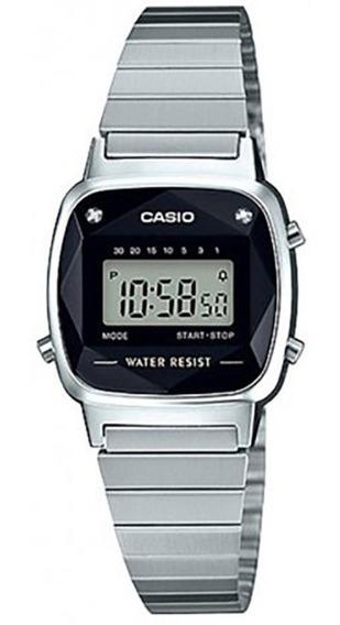 Relógio Casio Original Mini Diamantes La670wad-1df C/nf