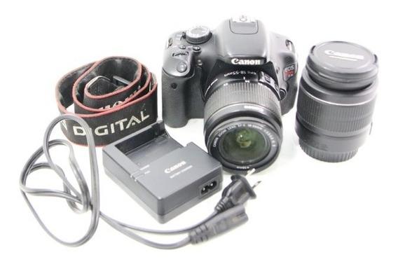 Câmera Fotográfica Canon T3i Eos + 2 Lentes Canon Imperdivel - Promoção