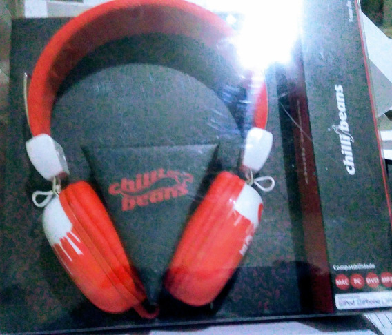 Fone Supra Auricular Hipster Tm-612mv/2-3 - Vermelho