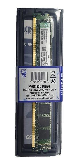 Memoria Ram Ddr3 8g Kingston 1333/10600 Nueva Tienda