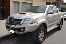 Vendo Toyota Hilux Srv Cuero Muy Equipada