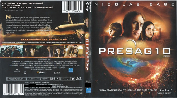 Presagio Pelicula Completa En Espaa Ol De Nicolas Cage Mercadolibre Com Mx