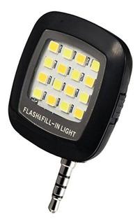 Mini Led Flash Com 16 Leds Para Celular Ou Tablet