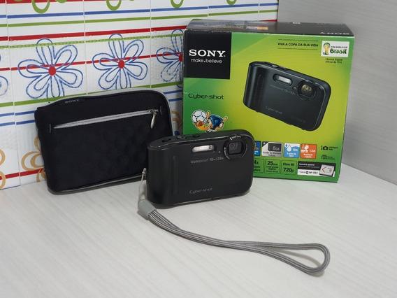 Câmera Sony Cybershot Dsc-tf1 À Prova D