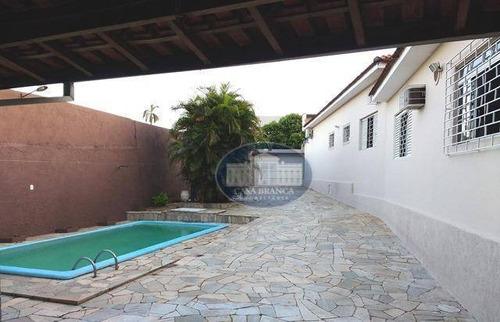 Imagem 1 de 30 de Casa Residencial À Venda, Vila Mendonça, Araçatuba. - Ca0734