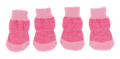 Imagen 1 de 12 de Calcetines De Tejido Mascotas Zapatos Accesorios Pero Gato
