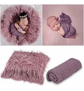 Aniwon 2 Piezas De Accesorios Para Fotos De Bebes Largas Env