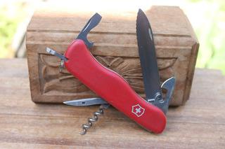 Antigo Canivete Victorinox Picknicker Slide-locking Coleção