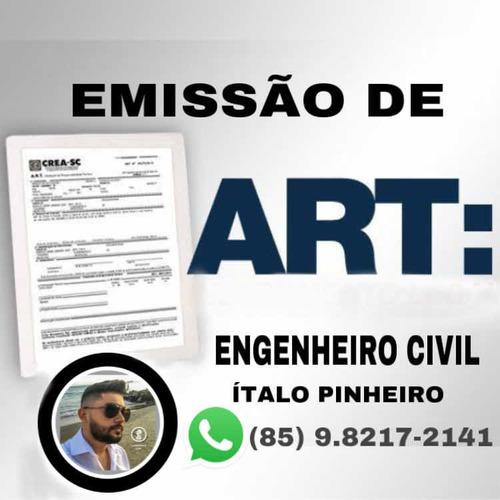 Imagem 1 de 1 de Art / Assinatura De Projeto, Construção, Reforma E Etc