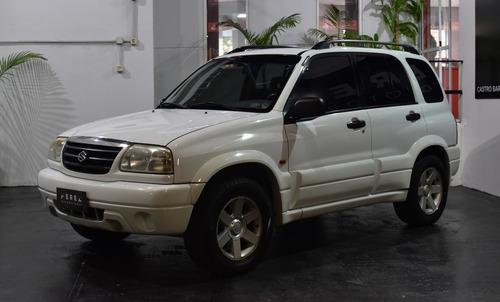 Suzuki Grand Vitara 2.0 4x4 A/t Blanco 2002 Nafta En Buen Es